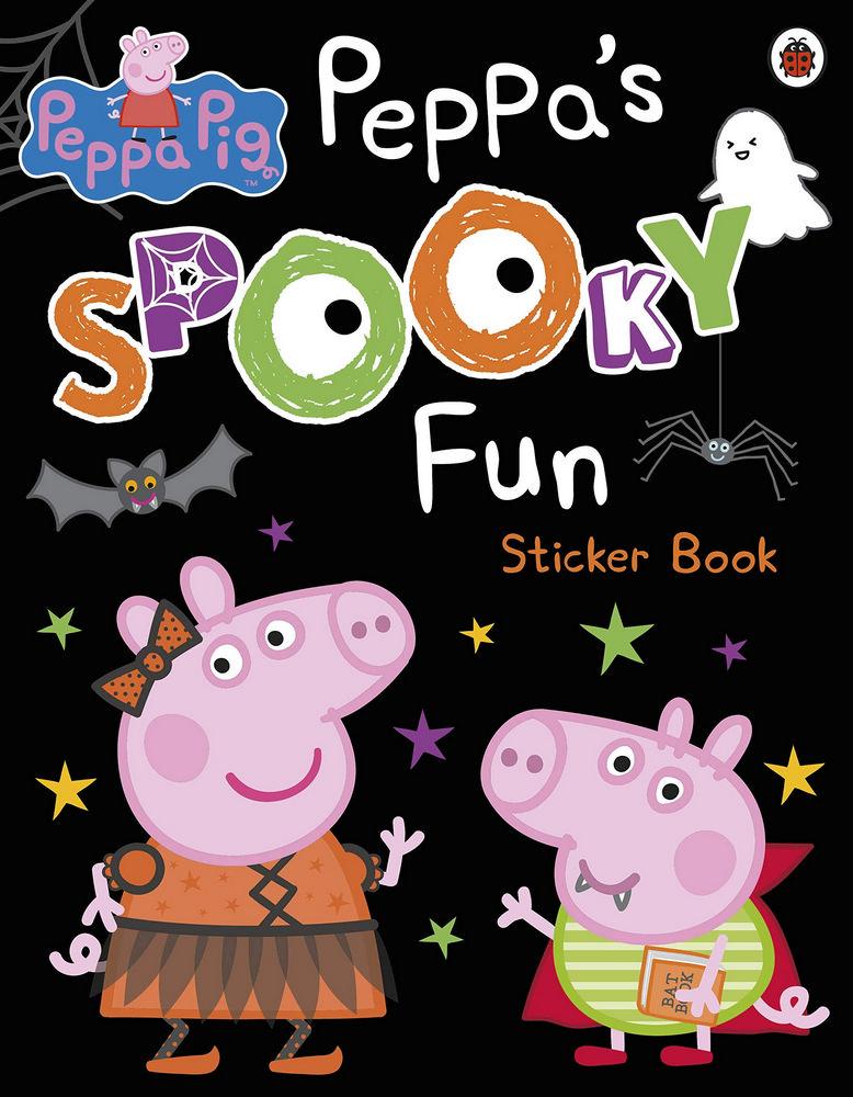 Peppa Pig: Peppa's Spooky Fun Sticker Book