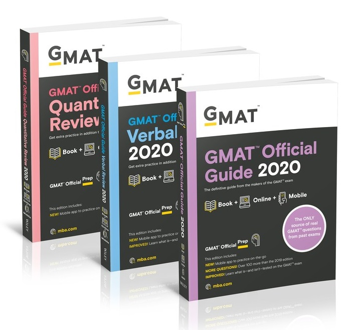 GMAT Official Guide 2020 Bundle: Gmat Official Guide / Quantitative Review / Verbal Review