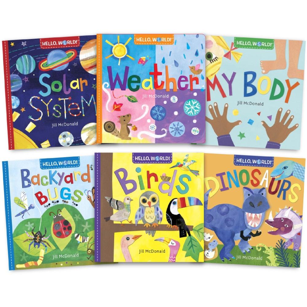 HELLO, WORLD! 幼兒科學啟蒙繪本套書(6冊合售)