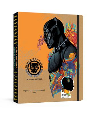 Black Panther School Planner: Includes Dry-Erase Pages & Stickers