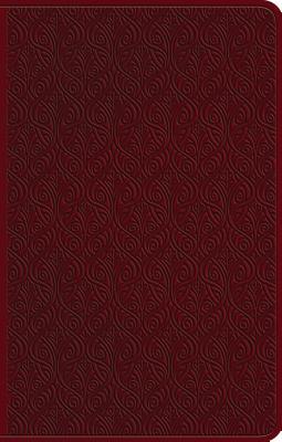 Holy Bible: English Standard Version, Premium Gift Bible, Ruby, Trutone, Vine Design