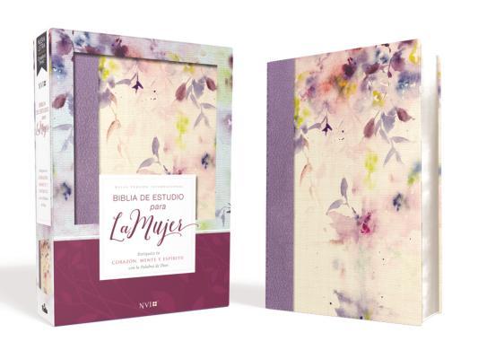 Biblia de estudio para la mujer: Nueva version internacional, tela lila Leathersoft: Enriquece tu Corazon, mente y espiritu con