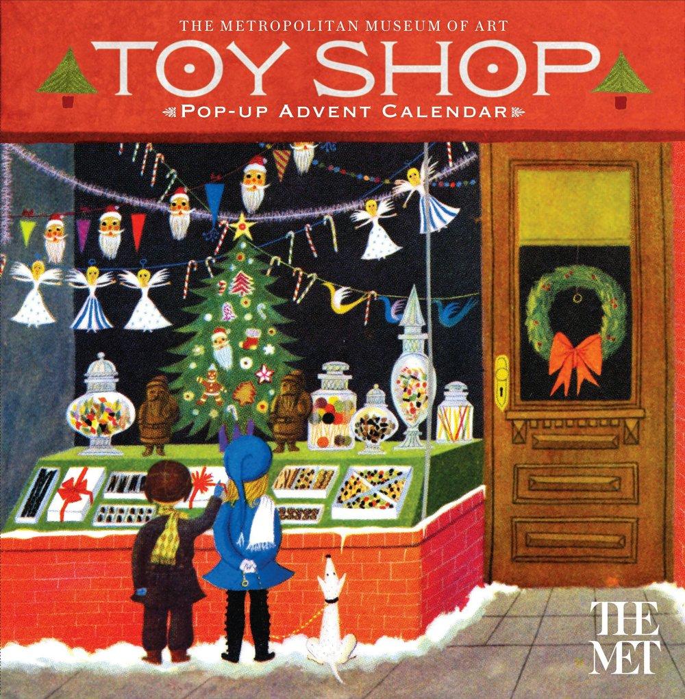 Toy Shop Pop-up Calendar【紐約大都會博物館】玩具店立體倒數日曆