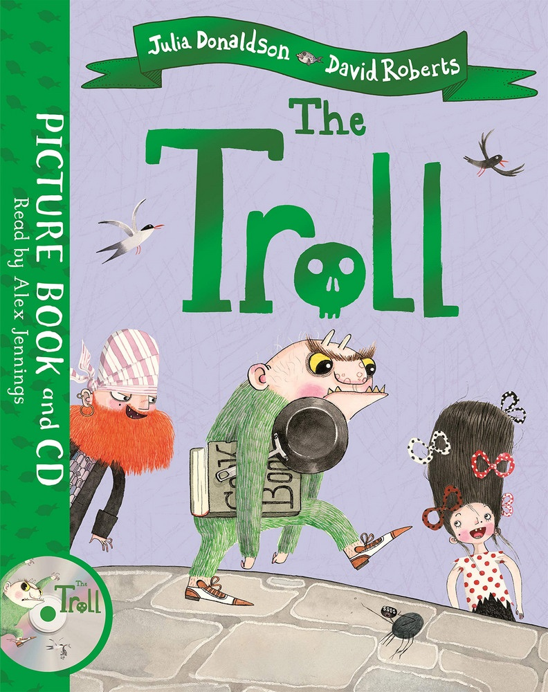 The Troll: Book and CD Pack