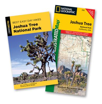 Falcon Guides Best Easy Day Hikes Joshua Tree National Park Trail Map Bundle