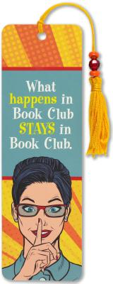 Book Club Beaded Bookmark