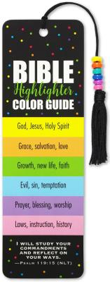 Bible Color Code Beaded Bookmark