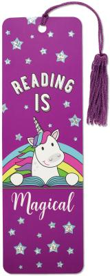 Reading Is Magical Children's Bookmark
