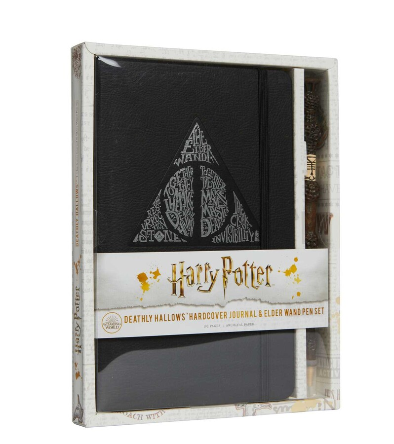 Harry Potter: Deathly Hallows Ruled Journal With Pen