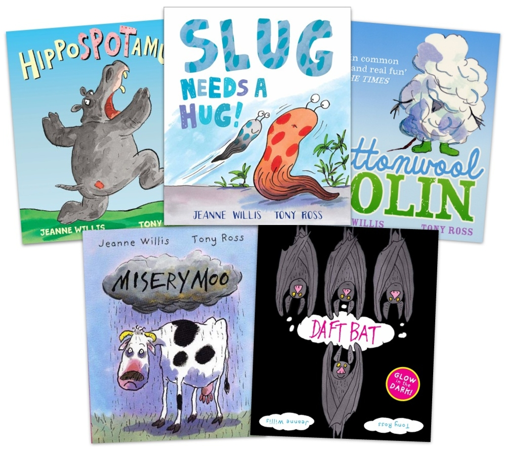 Tony Ross and Jeanne Willis picture book sets (Five book set)