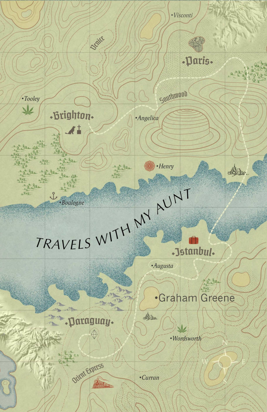Travels With My Aunt: (Vintage Voyages)