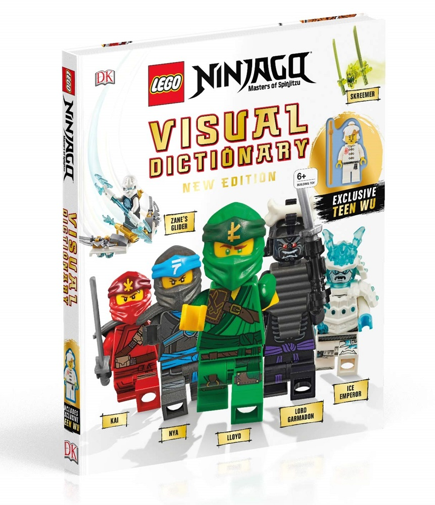 LEGO NINJAGO Visual Dictionary, New Edition: With Exclusive Teen Wu Minifigure(附偶)