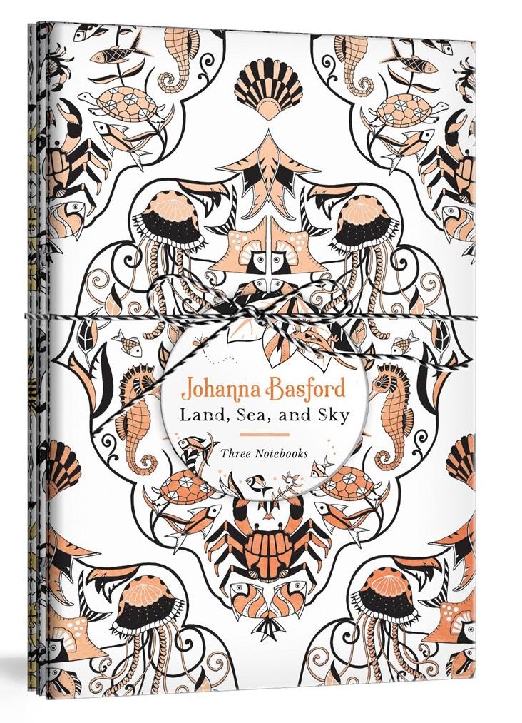 Johanna Basford Land, Sea, and Sky