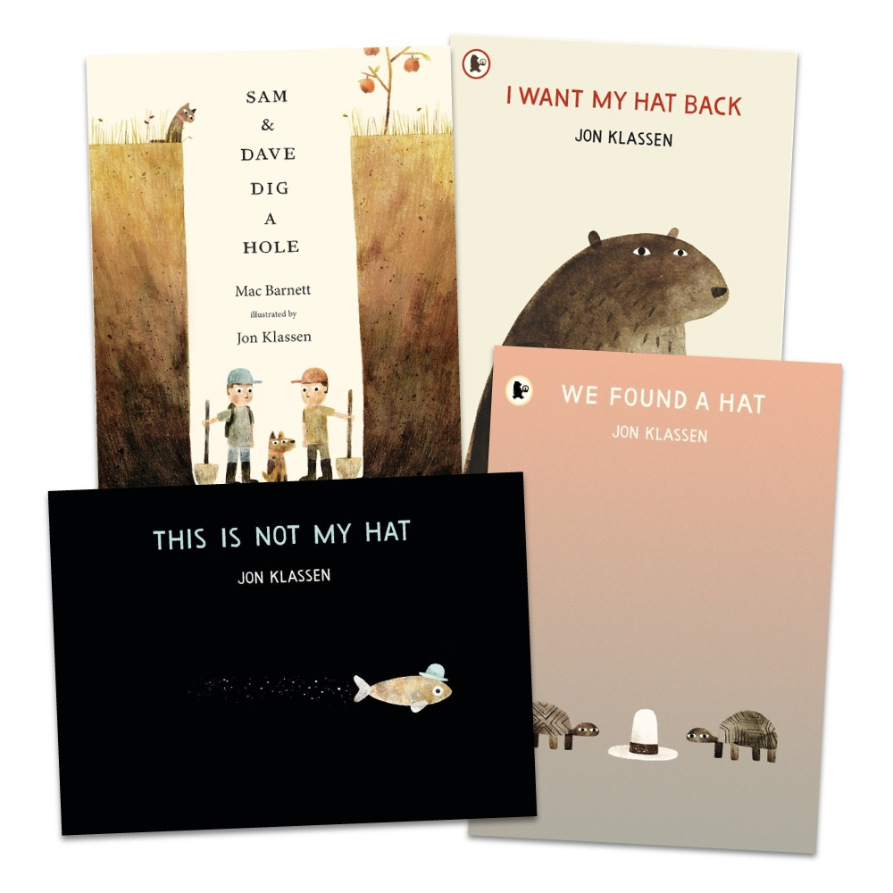 Jon Klassen picture book collection 雍.卡拉森精選繪本套書(4冊合售)