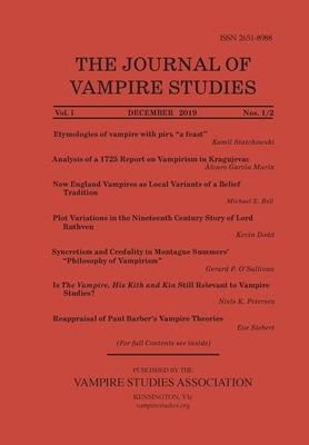 Journal of Vampire Studies: Vol. 1, Nos. 1/2 (December 2019)