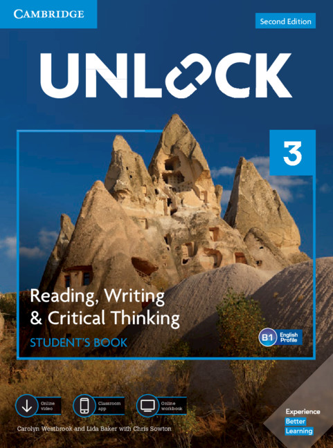 Unlock Level 3 Reading, Writing, & Critical Thinking Student's Book, Mob App and Online Workbook w/ Downloadable VideoWestbrook