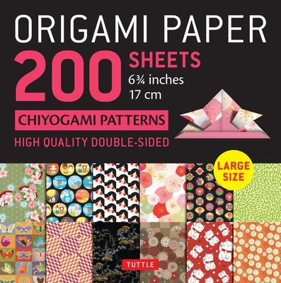 Origami Paper 200 Sheets Chiyogami Patterns 6.75 ( CM): Tuttle Origami Paper: High-Quality Double Sided Origami Sheets Printed with 12 Different Desig