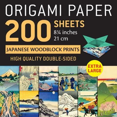 Origami Paper 200 Sheets Japanese Woodblock Prints 8.25: Tuttle Origami Paper: High-Quality Double Sided Origami Sheets Printed with 12 Different Desi