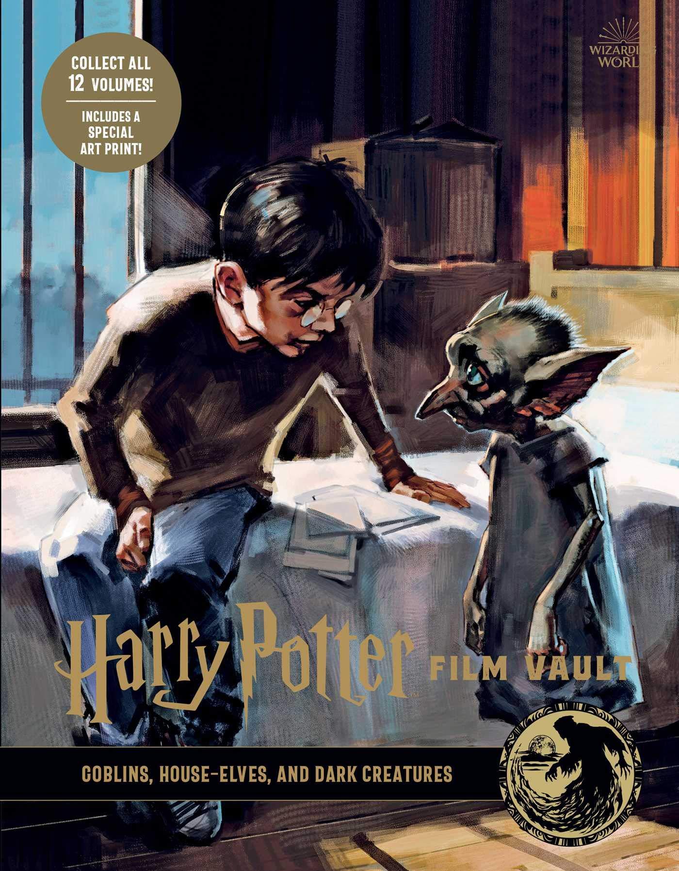 哈利波特電影寶庫 9:妖精、家庭小精靈與黑暗生物 Harry Potter: Film Vault: Volume 9: Goblins, House-Elves, and Dark Creature