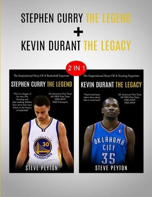 Stephen Curry & Kevin Durant: 2 in 1 Bundle - Two Super Stars - Back To Back Champions