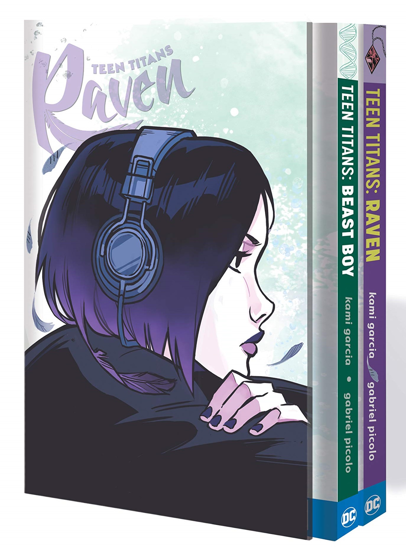 Teen Titans: Raven and Beast Boy Hc Box Set