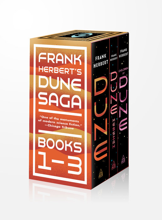 Frank Herbert''s Dune Saga 3-Book Boxed Set