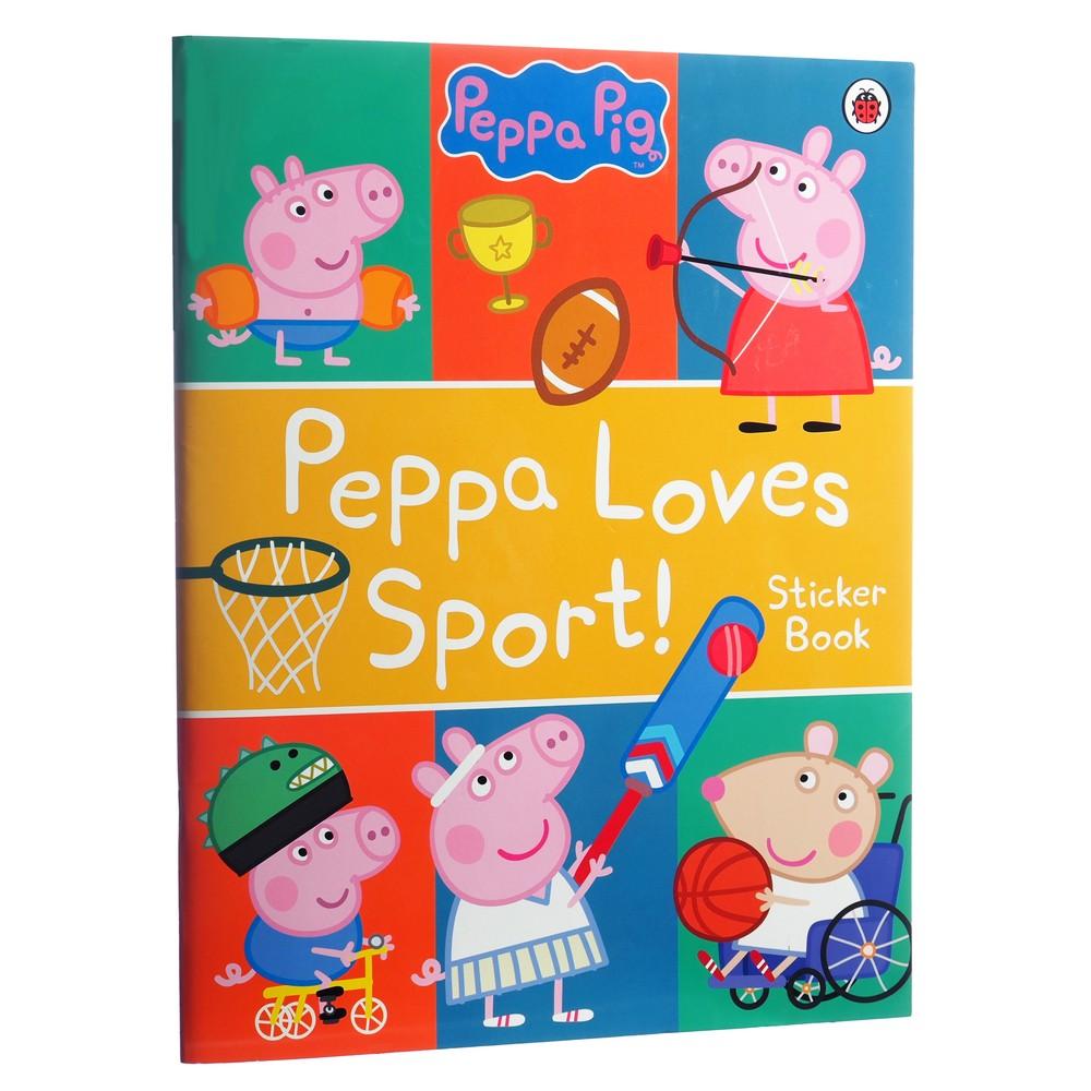 Peppa Pig: Peppa Loves Sports Sticker Book