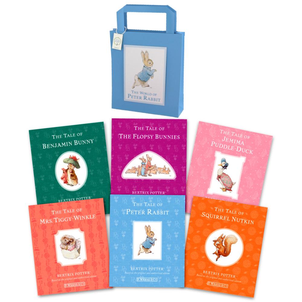 彼得兔經典故事套書(6冊附小書袋)Beatrix Potter Book Bag
