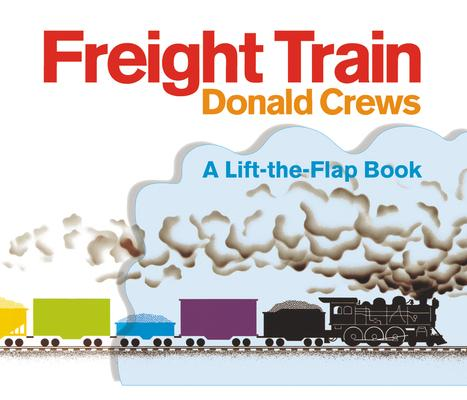 Freight Train Lift-The-Flap