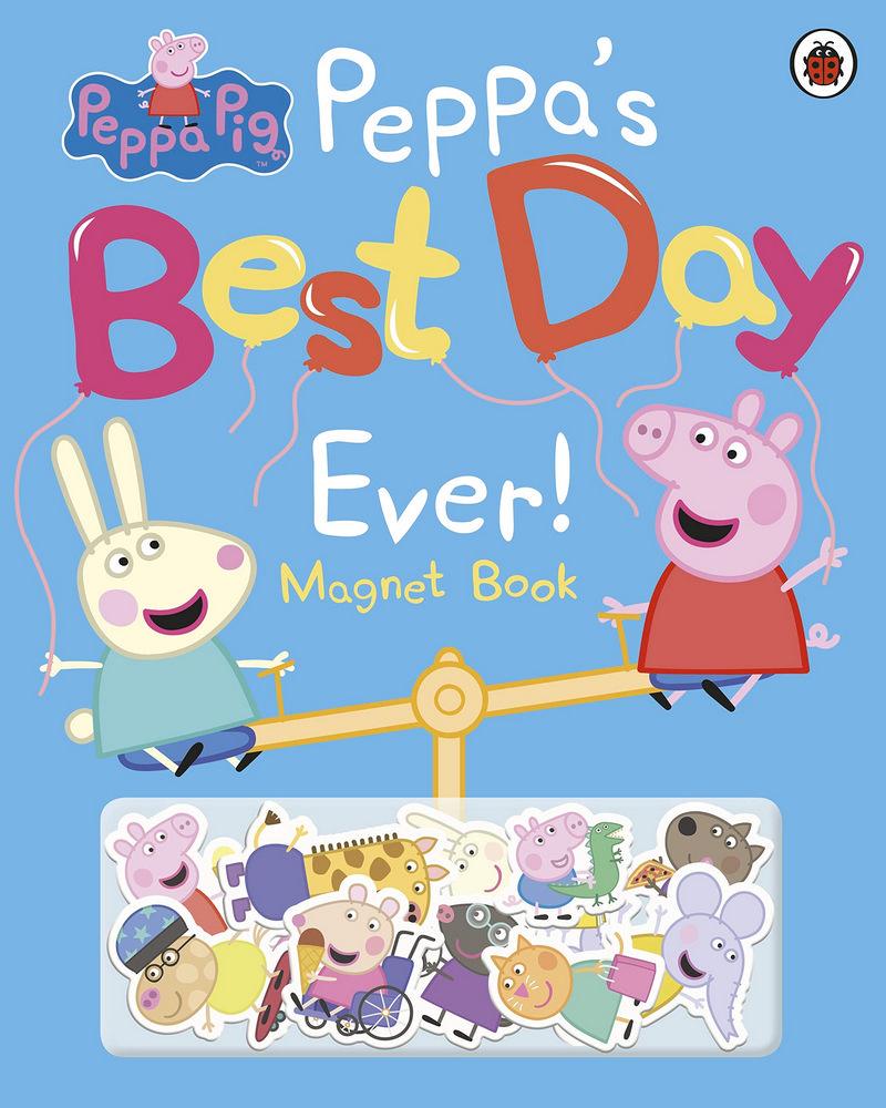 Peppa's Best Day Ever! 磁鐵故事書
