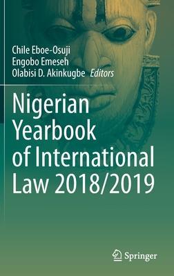 Nigerian Yearbook of International Law 2018/2019
