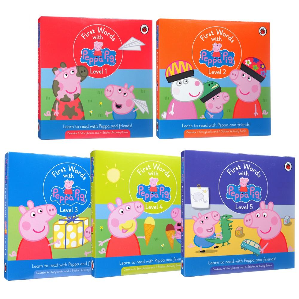 聽×讀《粉紅豬小妹英文學習故事盒》超值套組