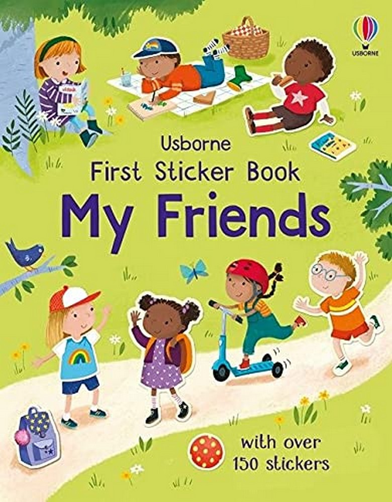 First Sticker Book My Friends