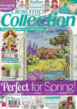 CROSS STITCH COLLECTION 5月號 2014