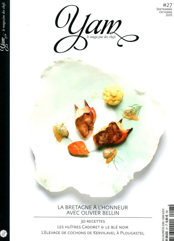 yam-le magazine des chefs 9-10月合併號/2015