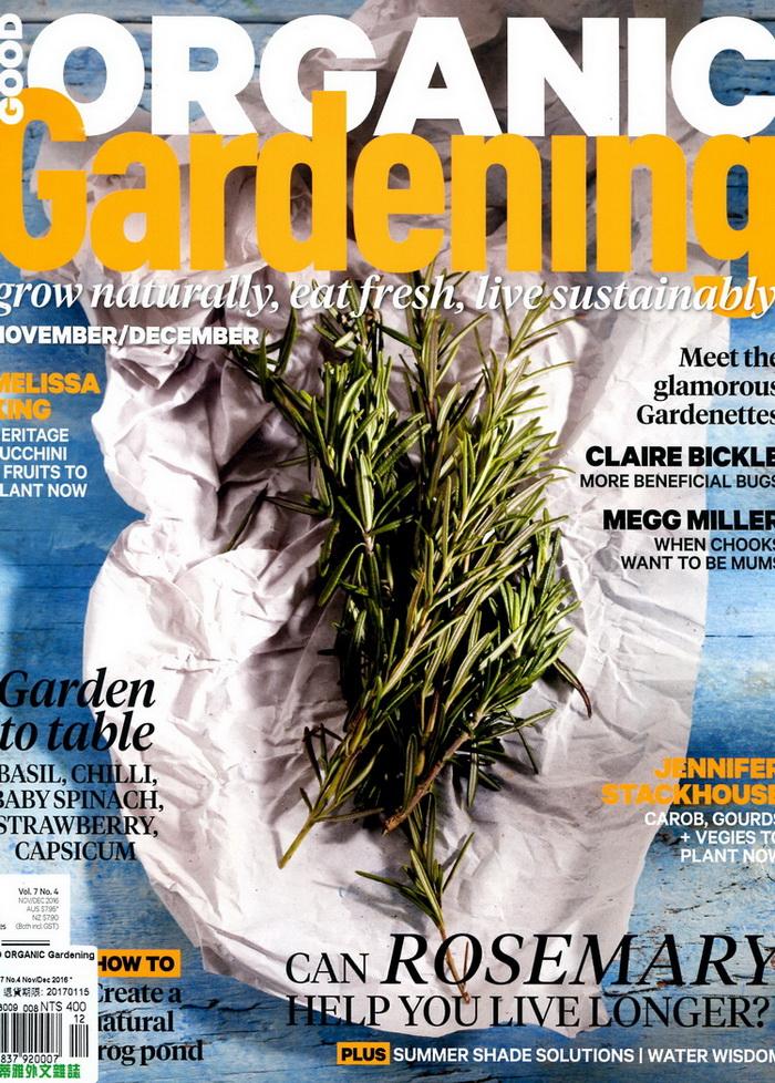GOOD ORGANIC Gardening Vol.7 No.4 11~12月號  20
