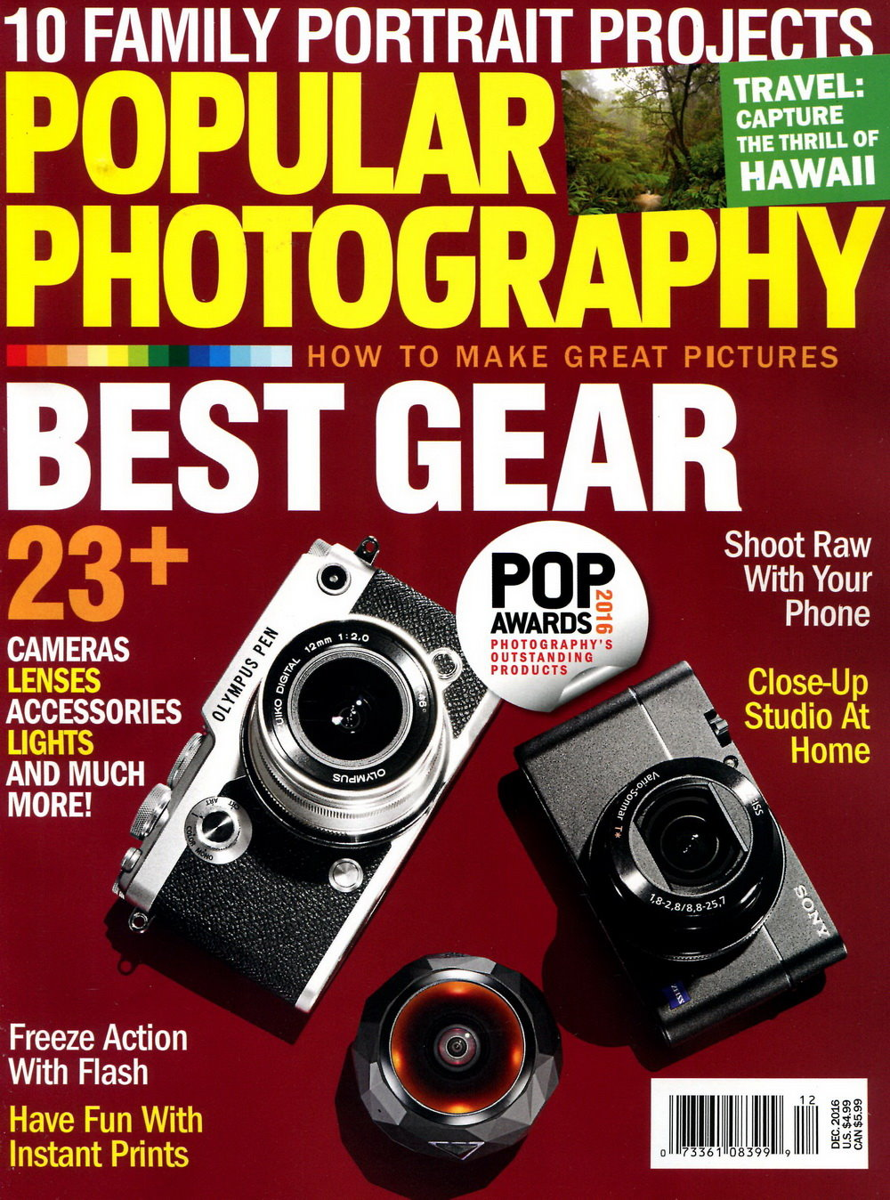 POPULAR Photography Vol.80 No.11 12月號  2016