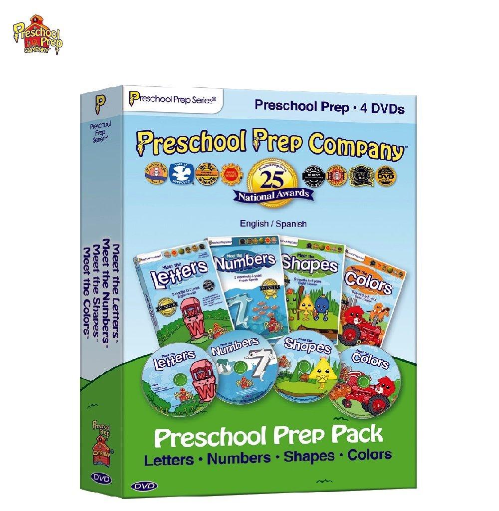 Preschool Prep 幼兒美語基礎DVD4片組