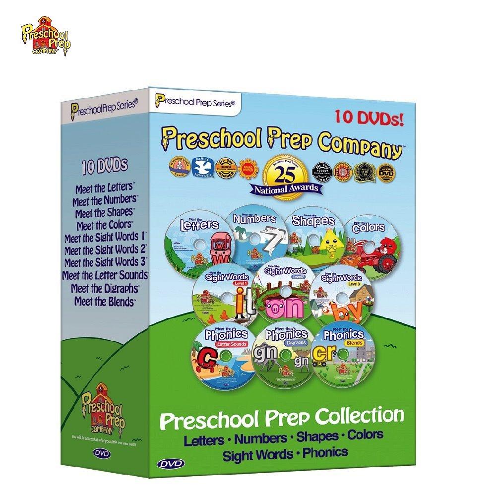 Preschool Prep 幼兒美語全套DVD10片組