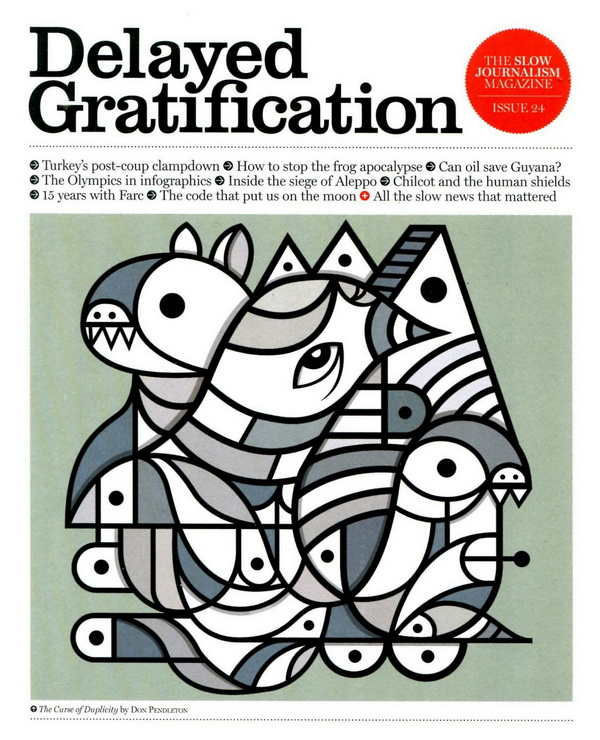 Delayed Gratification 第24期 7-9月號 / 2016