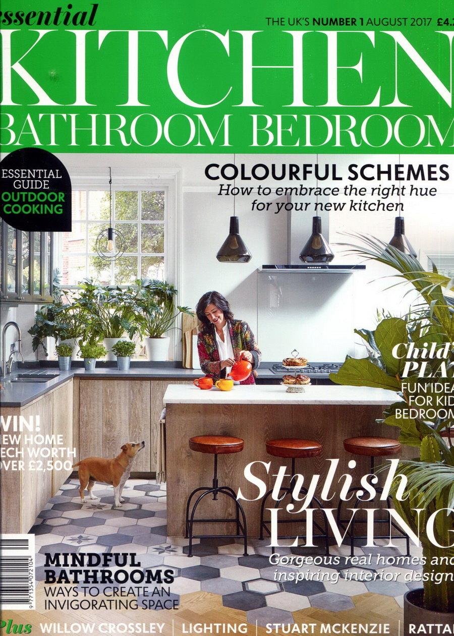 essential KITCHEN BATHROOM BEDROOM一年12期