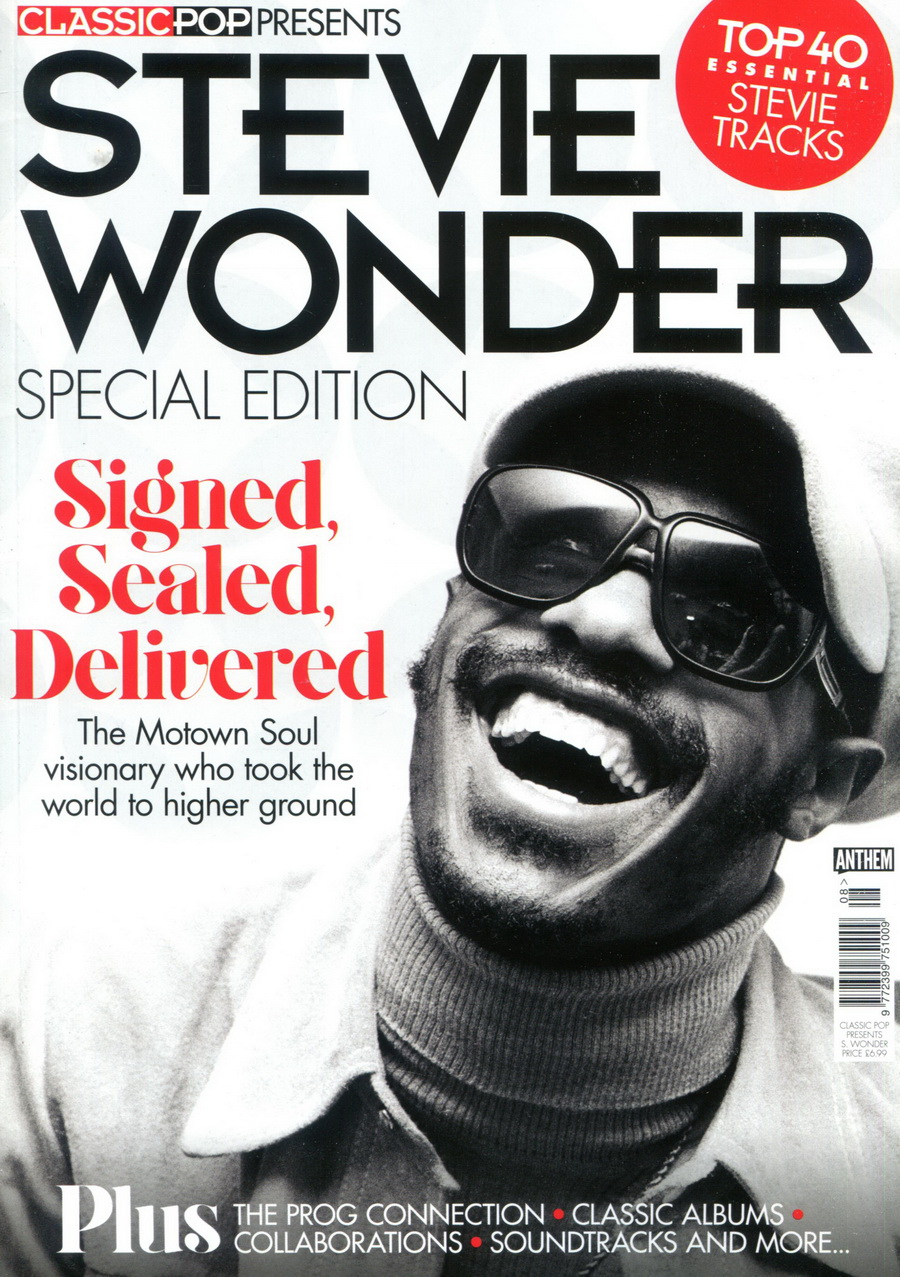 CLASSIC POP PRESENTS :STEVIE WONDER