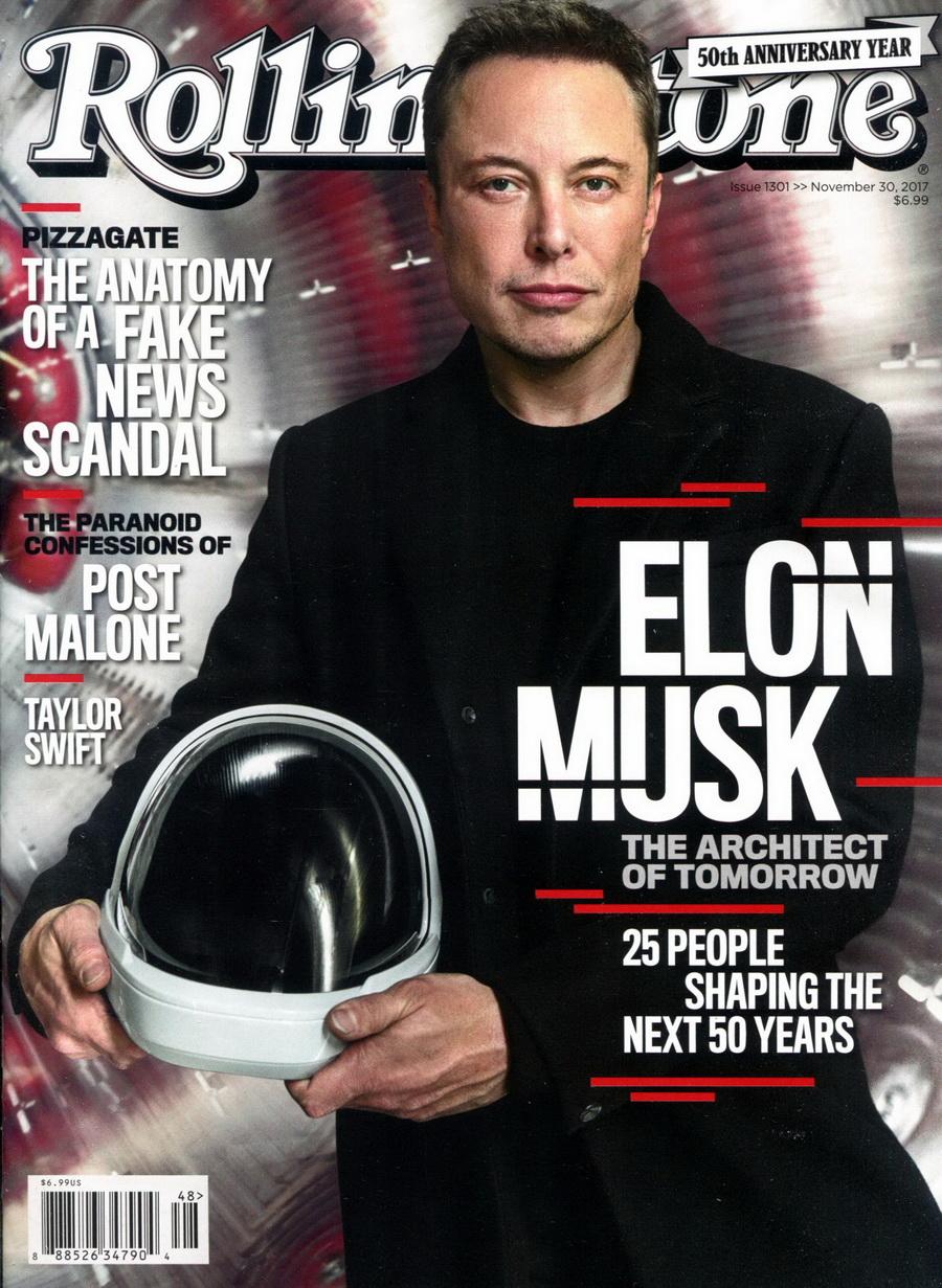 Rolling Stone 美國版 第1301期 11月30日/2017