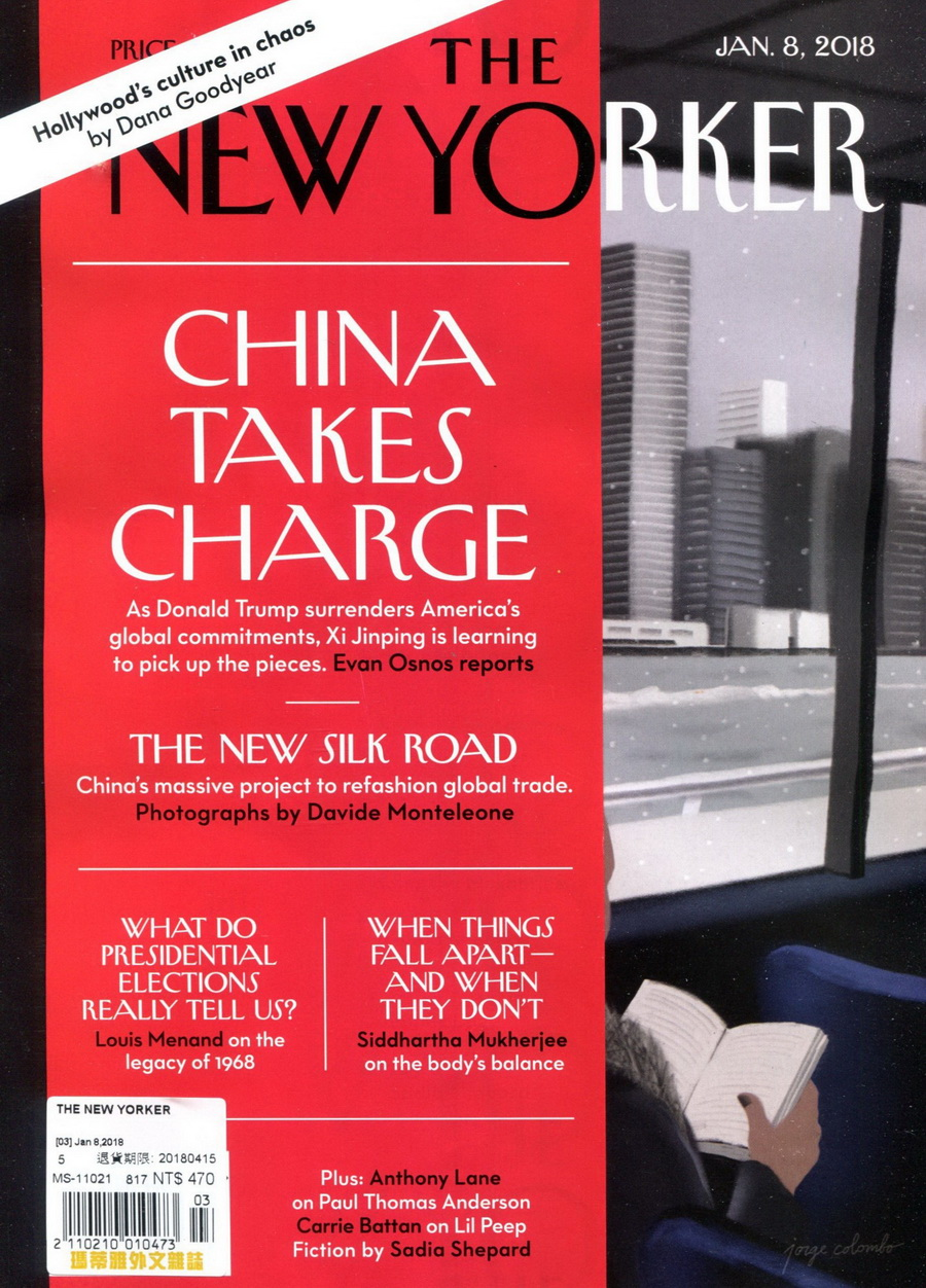 THE NEW YORKER 1月8日/2018