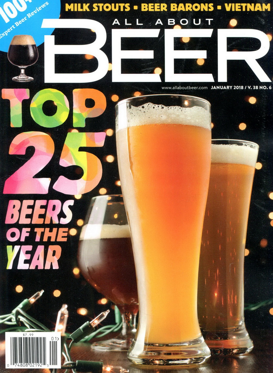 ALL ABOUT BEER Vol.38 No.6 1月號/2018