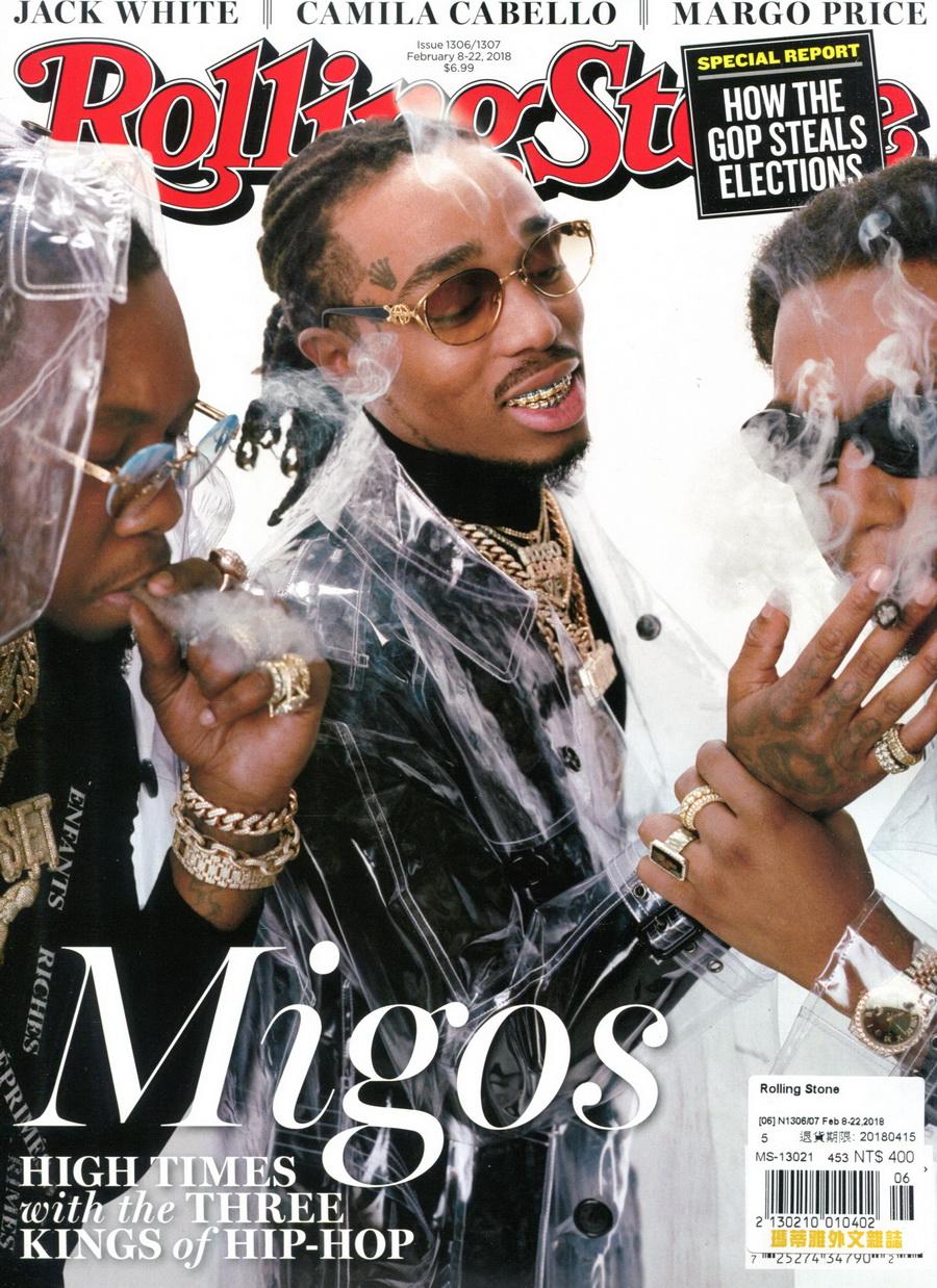 Rolling Stone 美國版 第1306-1307期 2月8-22日/2018