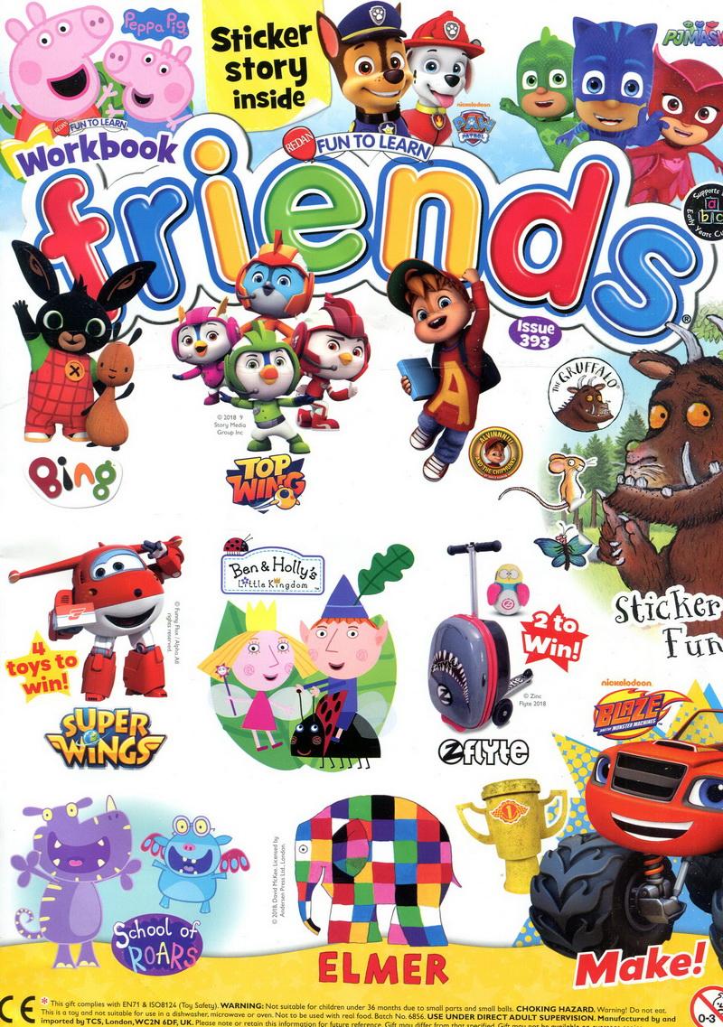 FUN TO LEARN friends 英國版 第393期