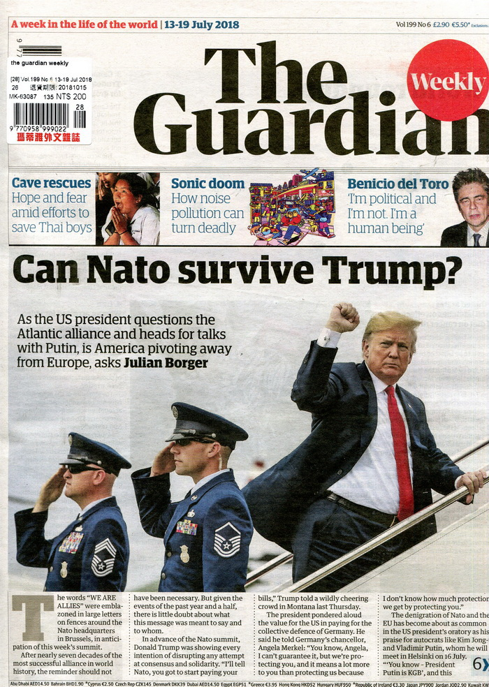 the guardian weekly Vol.199 No.6 7月13-19日/2018