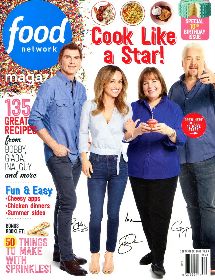 food network magazine 9月號/2018