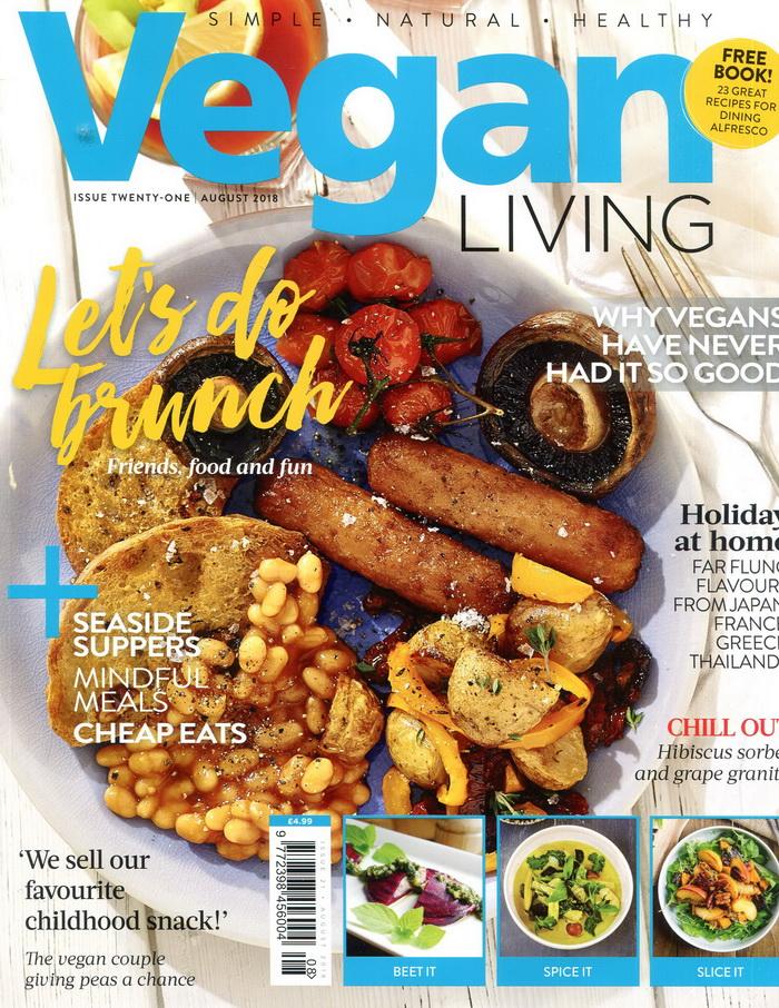 Vegan LIVING 第21期 8月號/2018